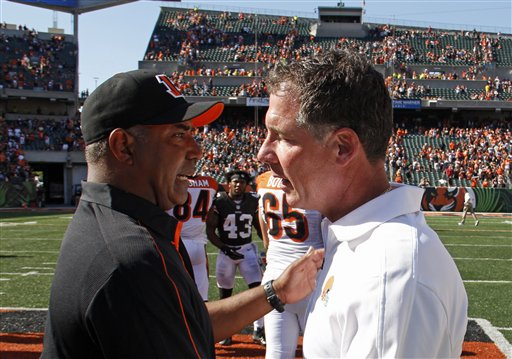 Marvin Lewis, Pat Shurmur
