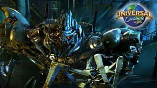 UNIVERSAL ORLANDO RESORT TRANSFORMERS: THE RIDE - 3D