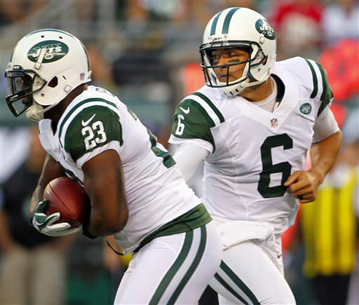 Mark Sanchez, Shonn Greene