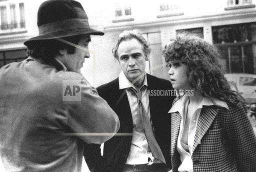 Associated Press International News France Entertainment MARLON BRANDO LAST TANGO