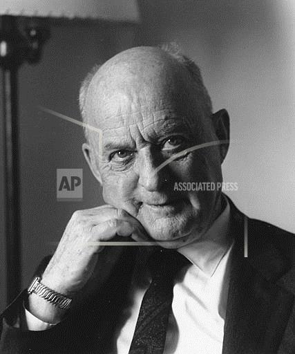 Associated Press Domestic News United States DR. REINHOLD NIEBUHR
