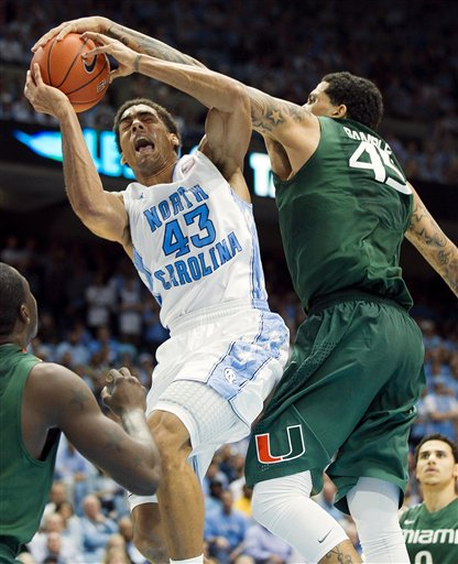 Miami North Carolina Basketball