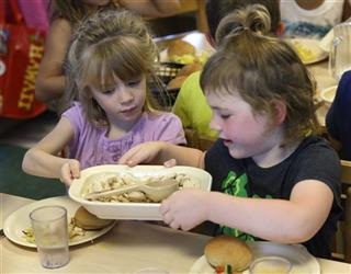 Food and Farm Childcare Meals