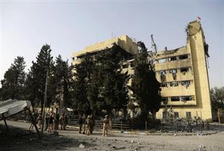 Iraq Destroyed Hospital