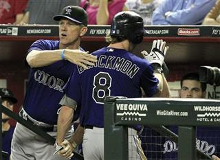 Jim Tracy, Charlie Blackmon
