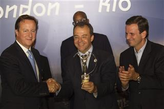 David Cameron, Sergio Cabral, Eduardo Paes