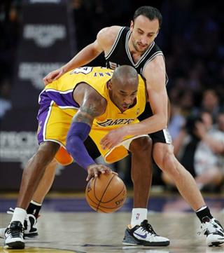 Kobe Bryant, Manu Ginobili