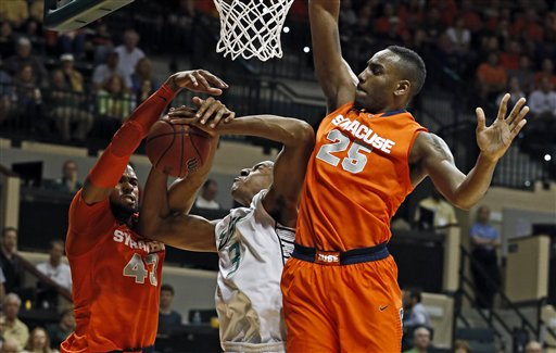 James Southerland, Rakeem Christmas, Zach LeDay