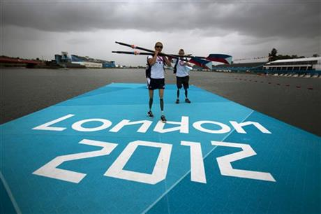 London Paralympics Rowing