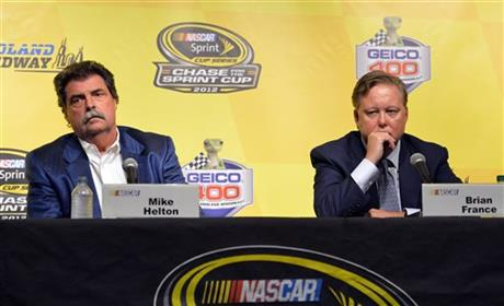 Brian France, Mike Helton