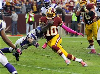Robert Griffin III, Harrison Smith