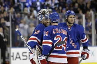 Henrik Lundqvist, Ryan Callahan, Steve Eminger