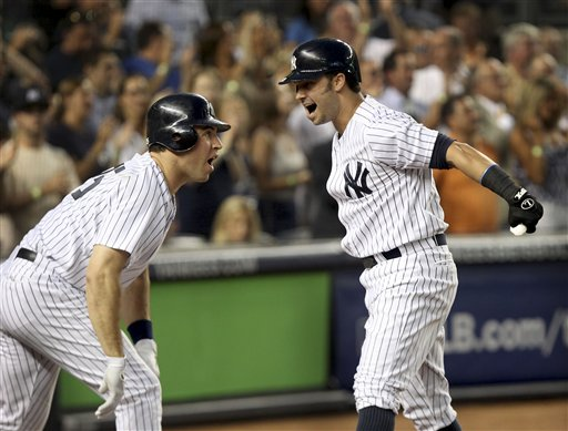 Nick Swisher, Mark Teixeira 