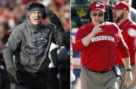 Wisconsin Northwestern Football