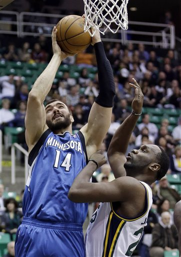 Nikola Pekovic, Al Jefferson