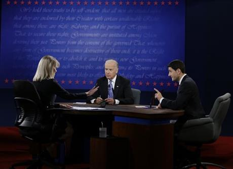 Paul Ryan, Joe Biden, Martha Raddatz
