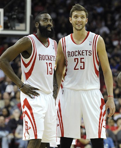 James Harden, Chandler Parsons