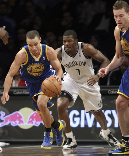 Stephen Curry, Joe Johnson