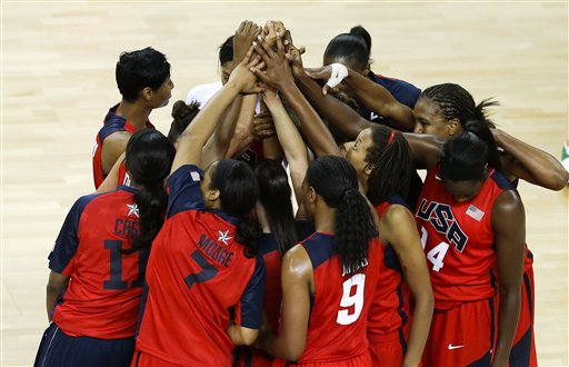 APTOPIX London Olympics Basketball Women