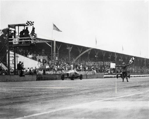 Indianapolis 500 1927 Countdown Race 15 Auto Racing