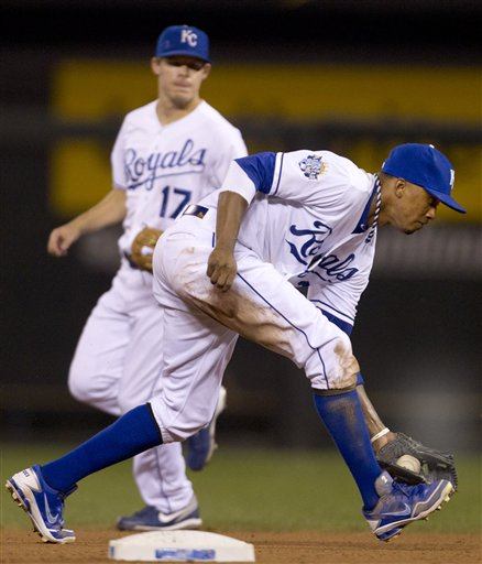Alcides Escobar, Chris Getz