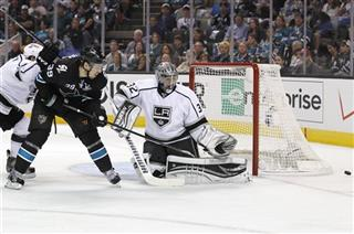 Jonathan Quick,  Logan Couture