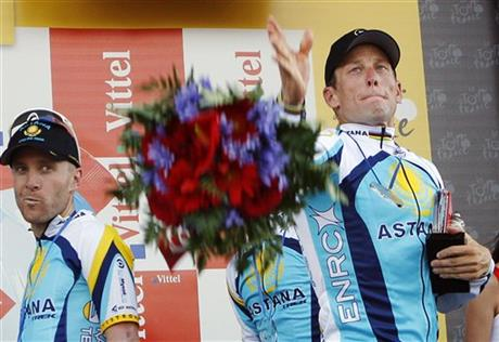 Lance Armstrong, Levi Leipheimer