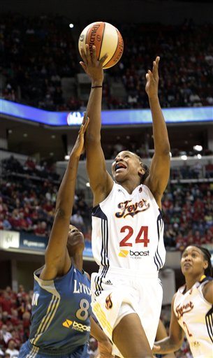 Tamika Catchings, Taj McWilliams-Franklin