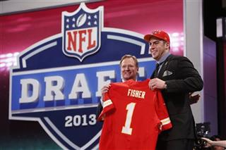 Eric Fisher, Roger Goodell