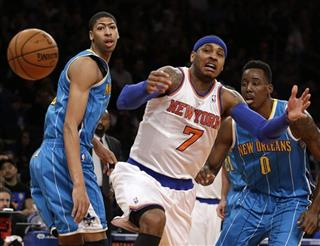 Anthony Davis, Carmelo Anthony