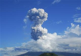 APTOPIX Philippines Volcano