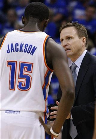 Scott Brooks, Reggie Jackson