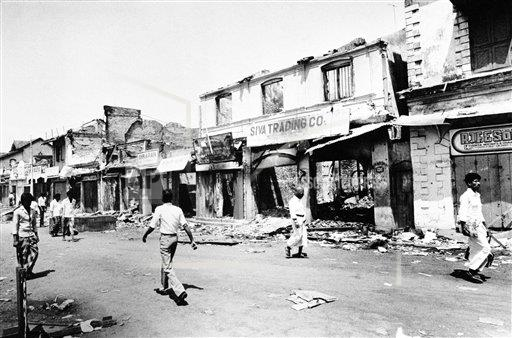 Watchf Associated Press International News   SRI LANKA APHS136680 Sri Lanka Riots 1983