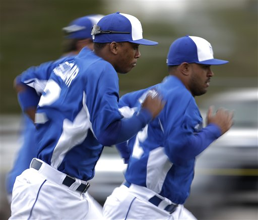 Alcides Escobar, Christian Colon