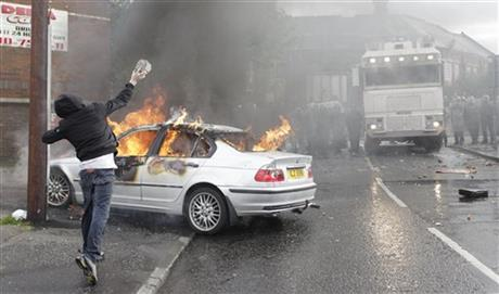 APTOPIX Britain Northern Ireland Rioting