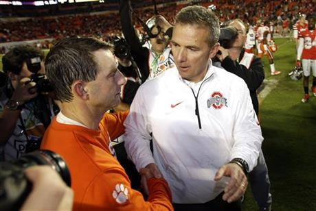Urban Meyer, Dabo Swinney