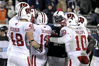 Wisconsin Penn St Football