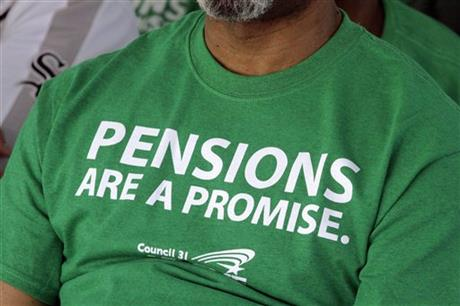 PEW Pension Shortfalls