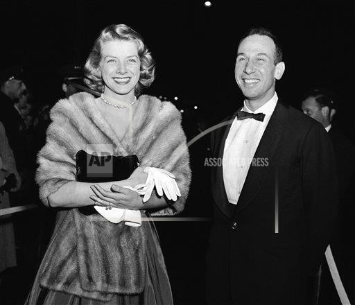 Watchf Associated Press Domestic News  New York United States APHS61036  Rosemary Clooney and Jose Ferrer