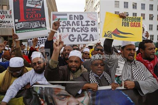 South Africa Israel Palestinians