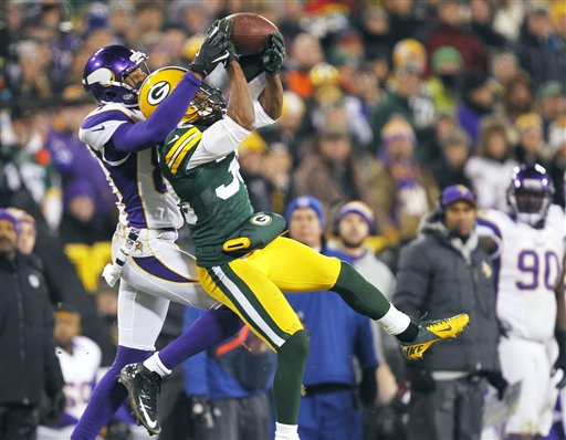 Jerome Simpson, Tramon Williams