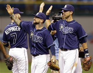 Jeff Keppinger, Ryan Roberts, Ben Zobrist