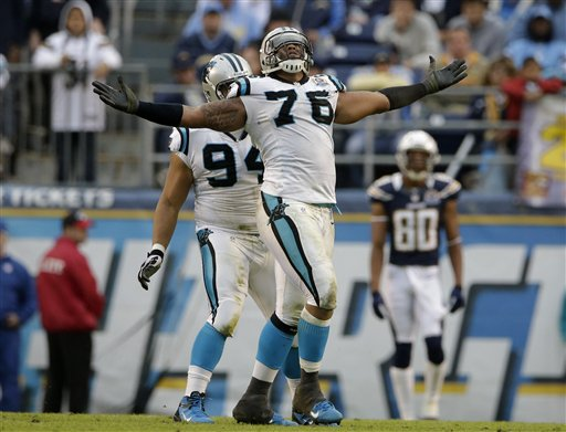 Greg Hardy, Sione Fua