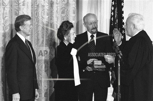 Watchf AP A  DC USA APHS360280 President Jimmy Carter