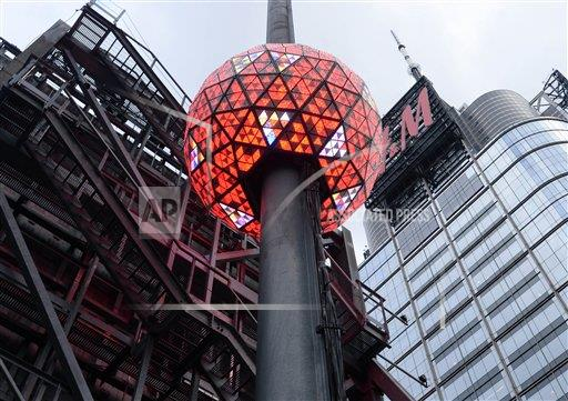 STRMX Star Max/IPx A ENT New York USA IPX Times Square New Year's Eve Ball Test - 12/30/16