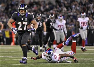 Stevie Brown, Ray Rice