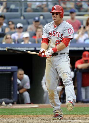 Mike Trout, Chris Stewart