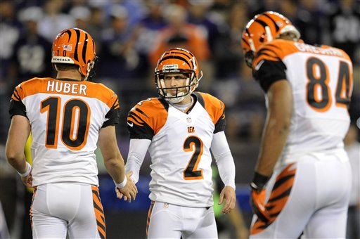 Mike Nugent, Kevin Huber, Jermaine Gresham