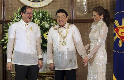Rodolfo Vera Quizon Sr, Benigno Aquino III, Zsa Zsa Padilla