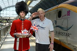 Olympic Teams Arrive at London St Pancras
